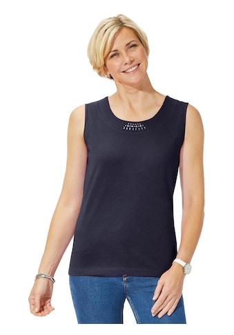Casual Looks Shirttop mit Baumwolle kaufen