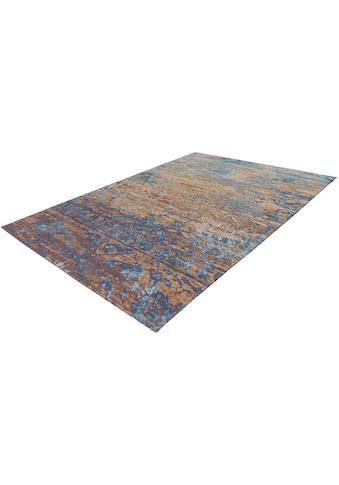 Arte Espina Teppich »Blaze 600«, rechteckig, 8 mm Höhe, Vintage Optik, mit Baumwolle und Chenille, Wohnzimmer kaufen