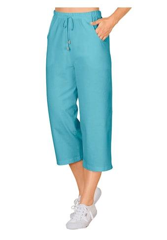 Lady Capri - Freizeithose mit Gummizug und Kordel kaufen