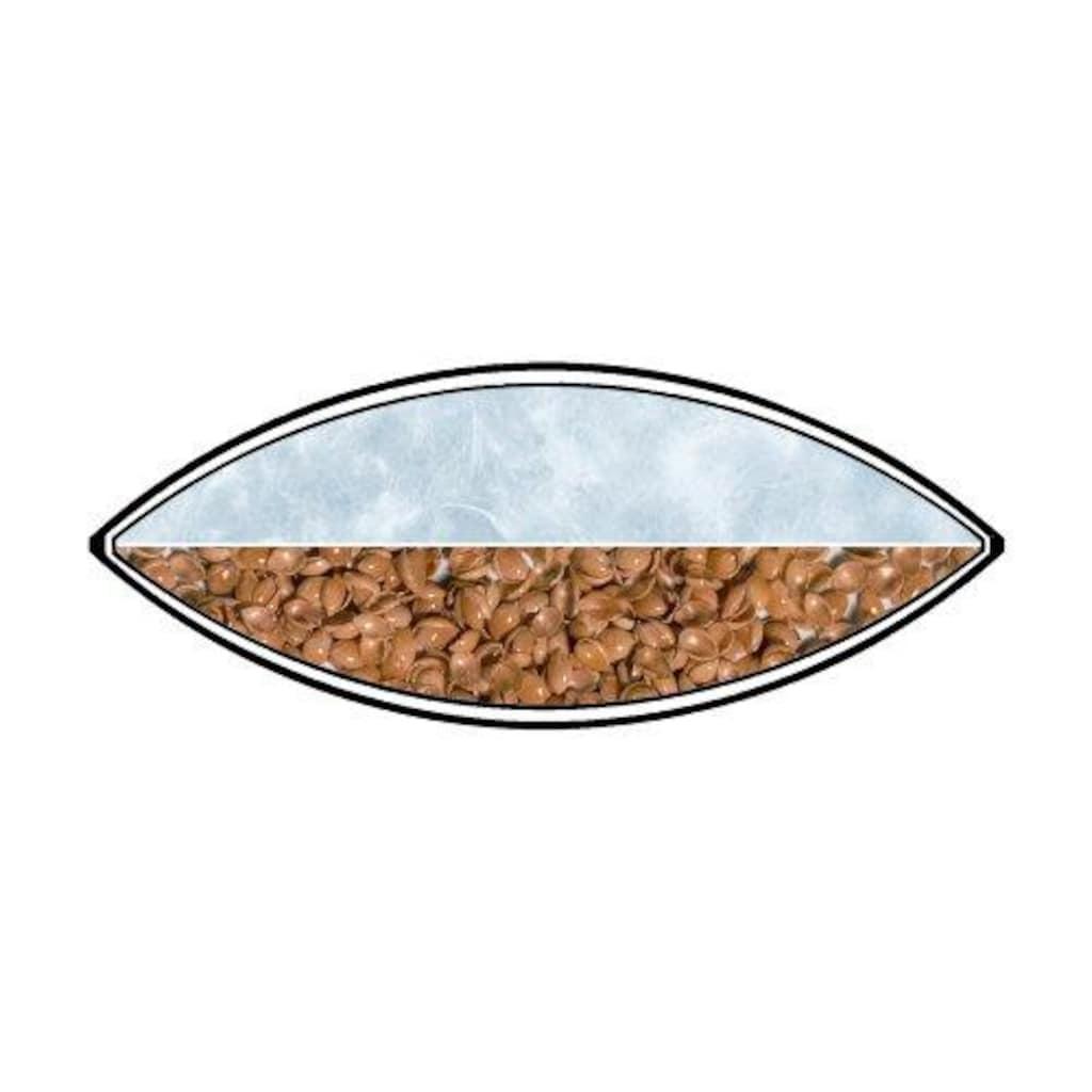 billerbeck Kopfkissen »Hirse- und Daunenkissen, Billerbeck«, Füllung: Oben: 90% neue, europäische Gänsedaunen, weiss 10% Federchen, VSB-Norm, kein Lebendrupf            Unten: 100% Hirseschalen (Goldfarbenhirse) von bester Qualität, selektioniert, Bezug: 100% Baumwolle, mit Reissverschluss zum Nachfüllen, Öko-Tex Standard 100, (1 St.)