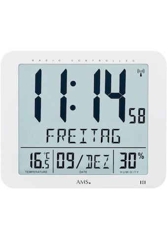 AMS Funkwanduhr »F5886«, mit Alarm kaufen