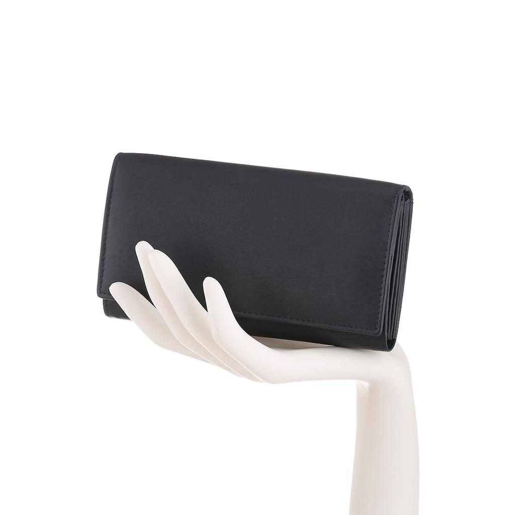 J.Jayz Geldbörse, aus weichem Leder mit Druckknopfverschluss