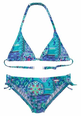 Buffalo Triangel-Bikini, im Folklore-Print kaufen