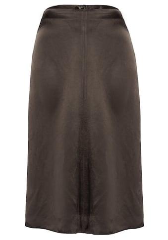 MORE&MORE Satin Skirt Active kaufen