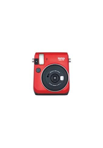 FUJIFILM Sofortbildkamera »Instax Mini 70 Rot« kaufen