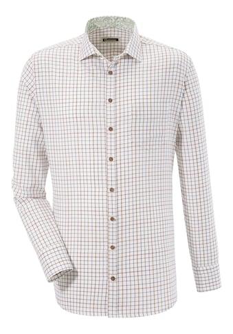 OS-Trachten Trachtenhemd, in dezentem Karo-Design kaufen