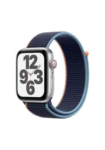 Apple Smartwatch »Serie SE, GPS Cellular, 44 mm Aluminium-Gehäuse mit Sportarmband... kaufen