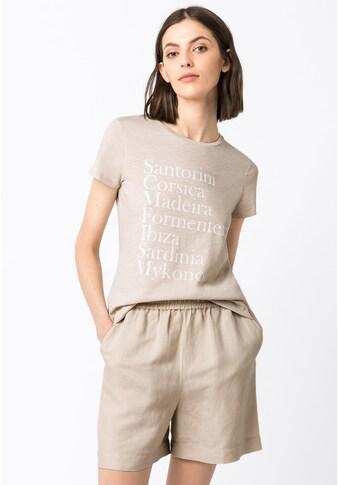 HALLHUBER T - Shirt »T - Shirt aus Bio - Baumwolle mit Print« kaufen