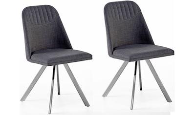 MCA furniture Esszimmerstuhl »Elara«, 2er-Set, drehbar 180° mit Nivellierung, Belastbar bis max. 120 kg kaufen