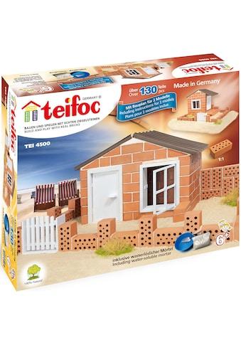 teifoc Konstruktions-Spielset »Strandhaus«, (130 St.), Made in Germany kaufen