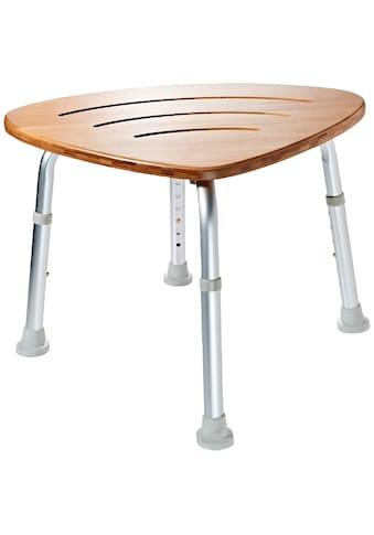 RIDDER Badhocker »Comfort«, mit Bambus - Sitzfläche kaufen