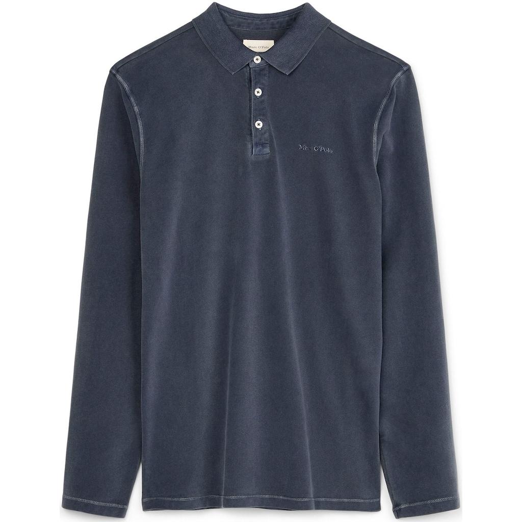 Marc O'Polo Langarm-Poloshirt, Used- Look