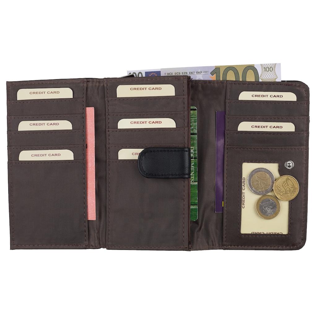 Bench. Geldbörse, mit praktischer Einteilung