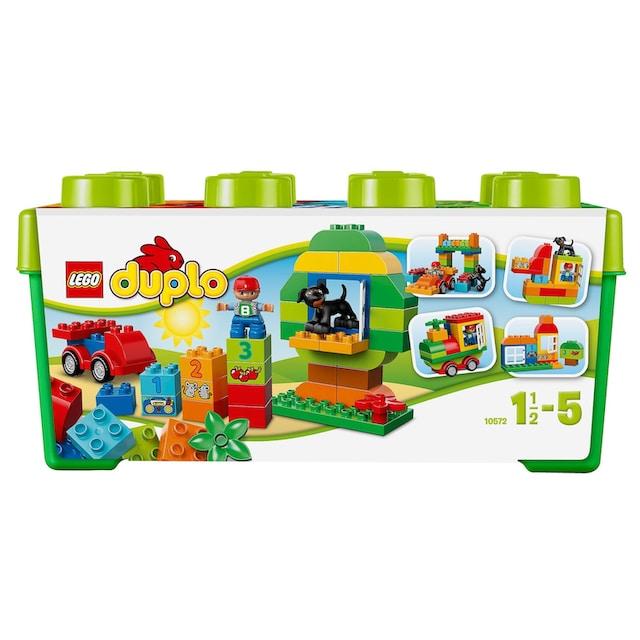 """LEGO® Konstruktionsspielsteine """"Grosse Steinebox (10572), LEGO® DUPLO®"""", Kunststoff, (65-tlg.)"""