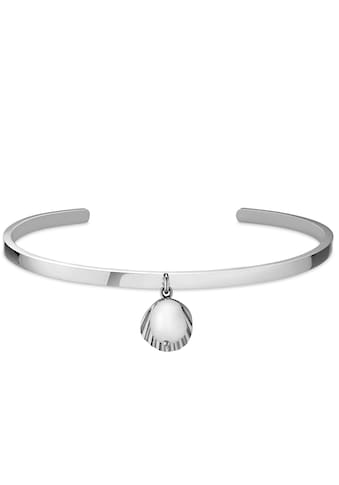 ROSEFIELD Armspange »Shell and pearl bangle silver, JSPBAS - J166« kaufen