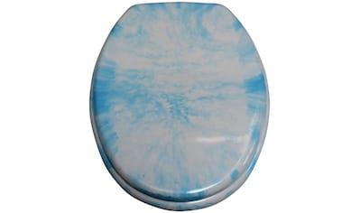 ADOB WC-Sitz »Marmor«, extrem stabil mit Edelstahlscharnieren kaufen