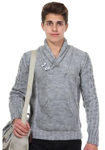 R - NEAL Pullover Schalkragen slim fit kaufen