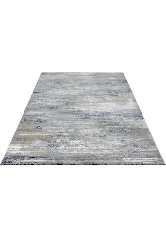 ELLE DECORATION Teppich »Trappes«, rechteckig, 11 mm Höhe, Kurzflor, Relief Optik,... kaufen