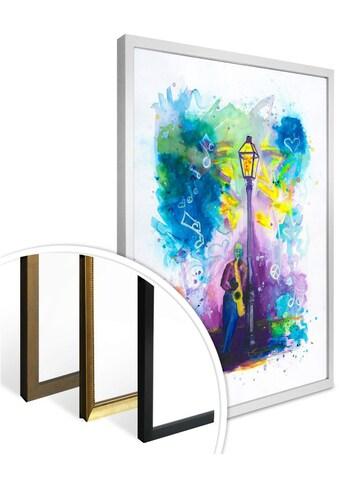 Wall-Art Poster »Love is in the Air«, Schriftzug, (1 St.), Poster, Wandbild, Bild, Wandposter kaufen