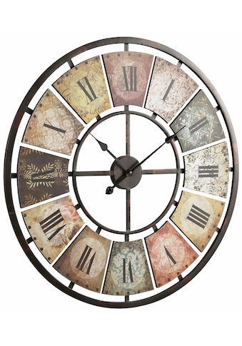 Schneider Wanduhr »Roman«, rund, Ø 80 cm, römische Ziffern kaufen