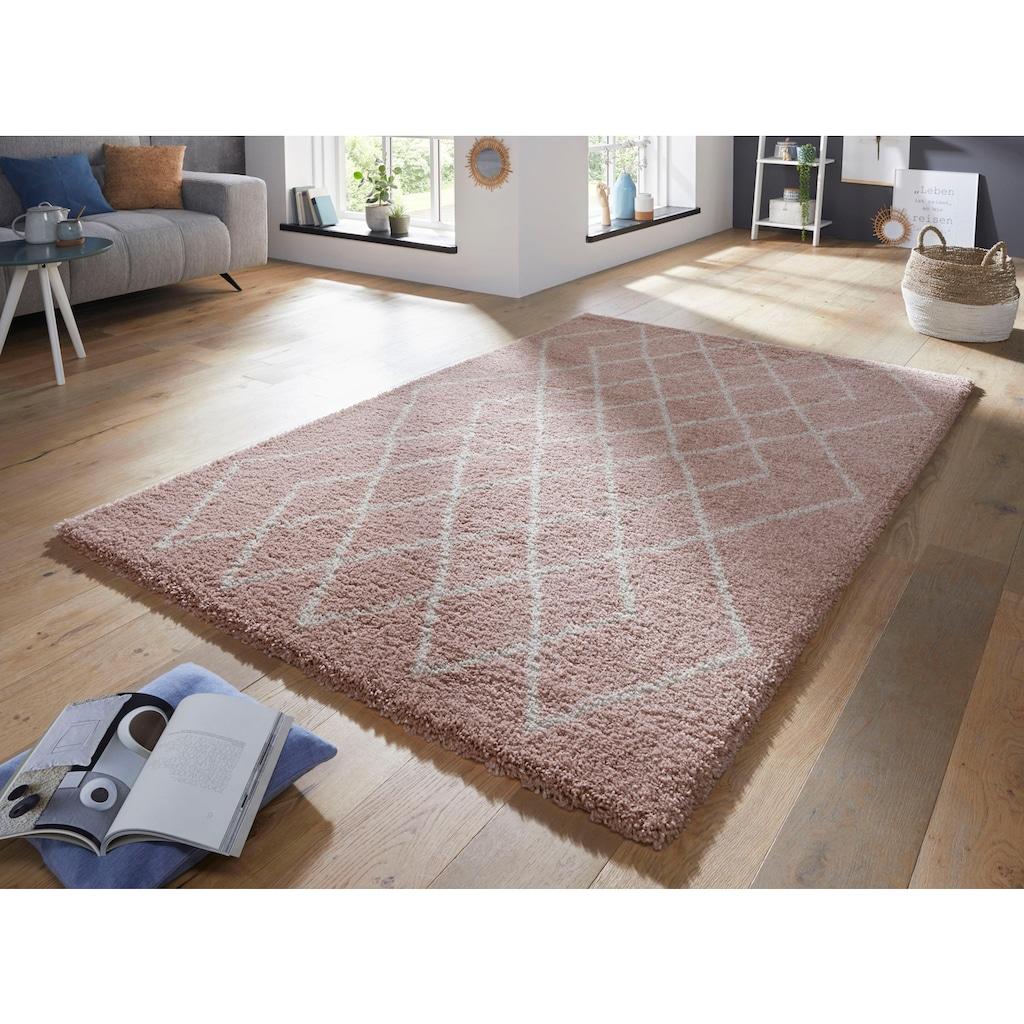 MINT RUGS Teppich »Touch«, rechteckig, 35 mm Höhe, besonders weich durch Microfaser, Wohnzimmer