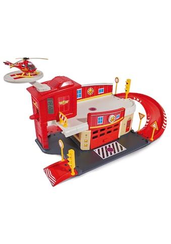 """Dickie Toys Spiel - Feuerwehrwache """"Feuerwehrmann Sam Fire Rescue Centre"""" kaufen"""